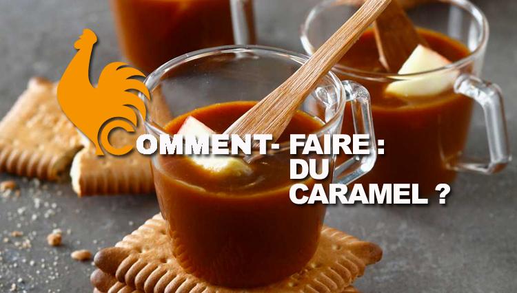 Comment faire du caramel recette facile et rapide avec ingr dients - Faire du caramel maison ...