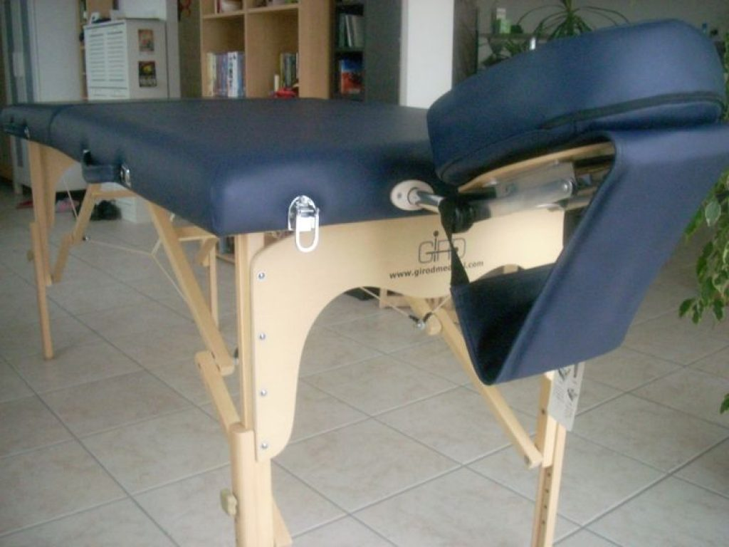 Table de massage vynile