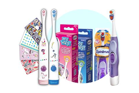brosse à dents electrique à piles