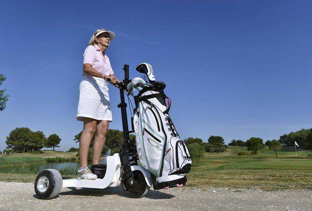 chariot golf electrique 2
