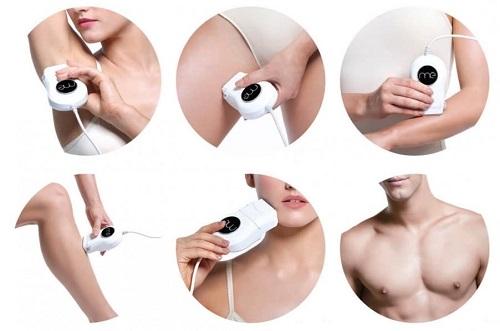 acheter epilateur lumiere pulsee type usage