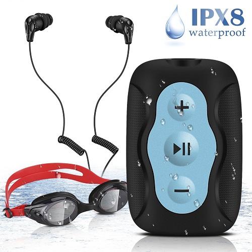 MP3 etanche agptek s33 kit