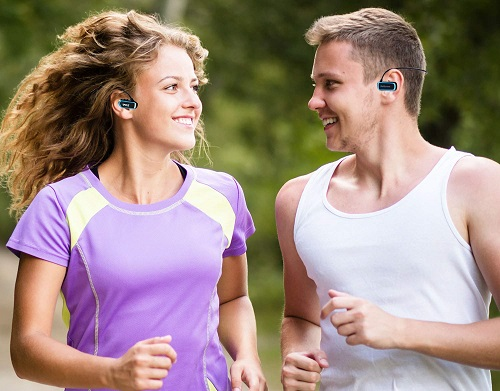 acheter avis MP3 etanche sports headset