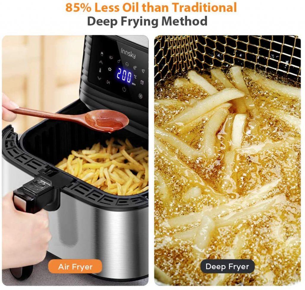 friteuse sans huile comparatif