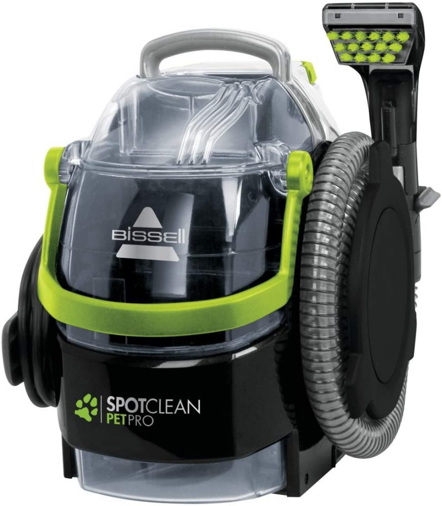 bissell spotclean pet pro test