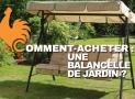 Balancelle de jardin – Guide d'achat pour choisir le meilleur