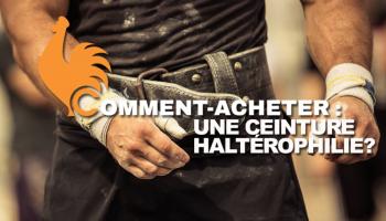 Ceinture d'haltérophilie – Guide d'achat pour choisir la meilleure