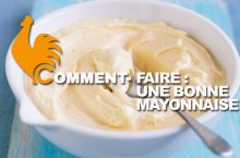 Comment faire une mayonnaise ?